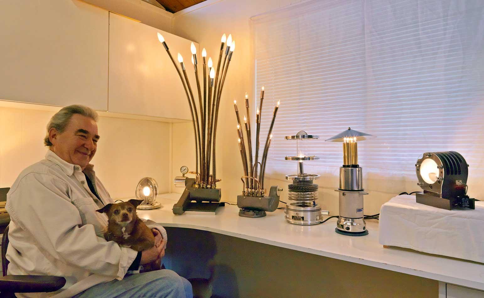 Ex Tech Lamps Emblage Art Lighting Fixtures Rescues